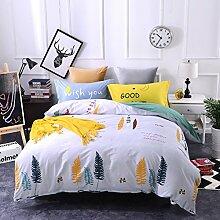 4 piece blumen comforter set king queen hoch klasse luxuriös flower drucken garten stil modern bettwäsche schwarz weiß multi color -J Queen2
