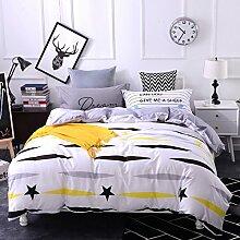 4 piece blumen comforter set king queen hoch klasse luxuriös flower drucken garten stil modern bettwäsche schwarz weiß multi color -R King