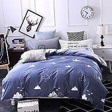 4 piece blumen comforter set king queen hoch klasse luxuriös flower drucken garten stil modern bettwäsche schwarz weiß multi color -T King