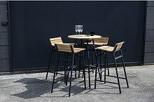 4-Sitzer Gartengarnitur Anoki Ebern Designs