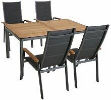 4-Sitzer Gartengarnitur Mccutcheon mit Polster
