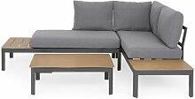 4-Sitzer Lounge-Set Elmas mit Polster