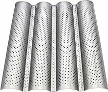 4 Slot Baguetteform Wellenförmige U-Form Baguette