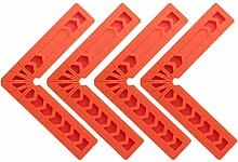 4 Stück 90-Grad L Form Präzision Holzbearbeitung