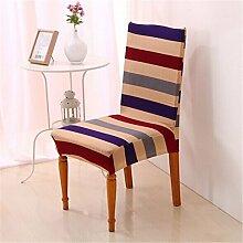 4Stück Esszimmerstuhl Stretch Spandex Bezüge Stuhl Sitz Displayschutzfolie Bettüberwurf Dekor Neu Colour 10
