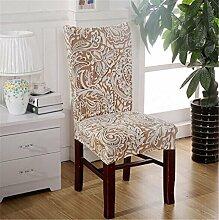 4Stück Esszimmerstuhl Stretch Spandex Bezüge Stuhl Sitz Displayschutzfolie Bettüberwurf Dekor Neu Colour 19