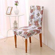 4Stück Esszimmerstuhl Stretch Spandex Bezüge Stuhl Sitz Displayschutzfolie Bettüberwurf Dekor Neu Colour 11