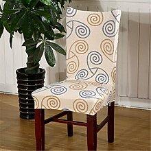 4Stück Esszimmerstuhl Stretch Spandex Bezüge Stuhl Sitz Displayschutzfolie Bettüberwurf Dekor Neu Colour 20
