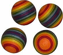 4 Stück Finkbeiner 4081-5 Regenbogenkugel Ø 4cm