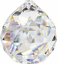 4 Stück Kristall-Kugel ø 40 mm 30% Bleikristall