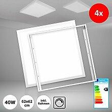 [4 Stück] Xtend LED Panel 62x62 dimmbar