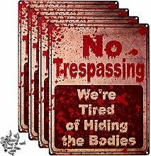 4 Stücke No Trespassing We're Tired of Hiding
