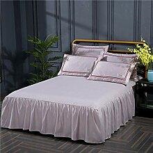 4 teilig Bettwäsche mit modernen Motiv -