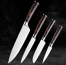 4-teiliges Küchenmesser Edelstahl Boning Messer