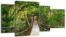 4-tlg. Leinwandbilder-Set Denn eine Kletterpflanze