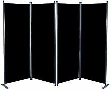 4-tlg Raumteiler 170 cm x 220 cm