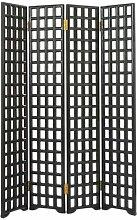 4-tlg. Raumteiler , 197 cm x 37 cm