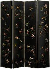 4-tlg. Raumteiler Shanxi Butterfly, 200 cm x 160 cm