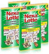 4 x 2 (8 Stk.) Nexa Lotte Schrankfalle für