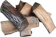 4 x 30 kg Eiche Brennholz Kaminholz, Eichenholz