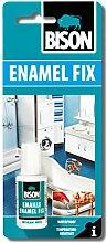 4x 6305648Bison Emaille Fix Repair weiß 20ml