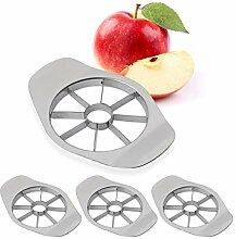 4 x Apfelschneider, teilt in 8 Apfel Spalten, für