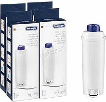 4x DeLonghi Wasserfilter Anti Kalk