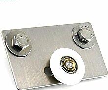 4x Dusche Tür Ersatz Drehknopf Runner Durchmesser 25mm