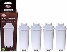 4 x Filterpatrone AquaCrest für Delonghi komp.