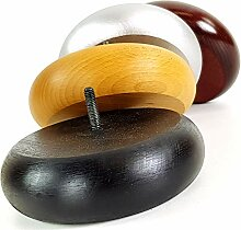 4 x Holzfüße für Möbelbeine aus Holz,