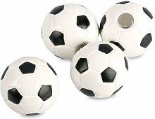 4 x Kühlschrankmagnete Fußball Ø 22mm Magnete