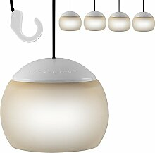 4 x LED Hängelampe Pavillon Laterne Camping Lampe