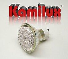 4 x LED Leuchtmittel 60er LED-Strahler 3W Warmweiss 230V
