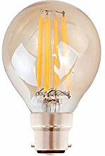 4x Vintage Stil Bajonettsockel LED Filament