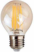 4x Vintage Stil Edison Schraube LED Filament