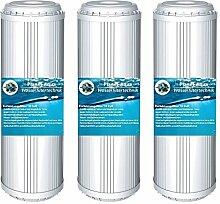 4 x WASSER ENTHÄRTUNG ANTIKALK KARTUSCHE 10 Zoll Filter Patrone für Wasserfilter als Kalkfilter Vorfilter Wasser Brunnenwasser Osmose Regenwasser