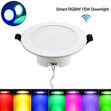 4-Zoll-WIFI-Smart-LED-Einbaustrahler - Mobile