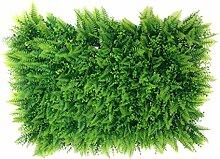 40 * 60cm Künstlichen Grünen Kunstrasen Rasen Sod Herzform Pflanze Dekor - 01