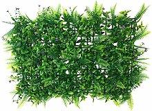 40 * 60cm Künstlichen Grünen Kunstrasen Rasen Sod Herzform Pflanze Dekor - 03