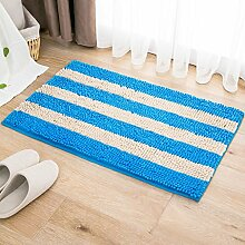 40 * 60cm Türmatten Anti-Rutsch-absorbierende Bodenmatten Bad Matratze Schlafzimmer Matte ( farbe : D )