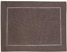 40 cm Deckchen Opodi Konsimo Farbe: Braun