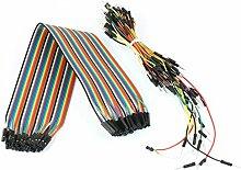 40F/F Jumper Wire + 75pcs Stecker Test Line