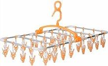 40 Klammer Kunststoff Faltbar Multifunktion Socken Trockengestelle