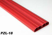 40 Meter PVC Zaunlatten Kunststoff Profile Bretter