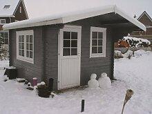 40 mm Gartenhaus Riho ca. 320x320 cm (unbehandelt)