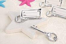 40Stück Multi-Funktion Silber Schlüssel