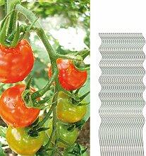 40 Tomatenspiralstäbe 150cm voll verzinkt Tomatenstab Tomaten Ranke Pflanzstab Stahl Profi Qualität Tomatenspiralstab