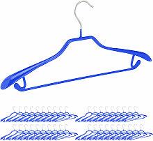 40 x Anzugbügel, breite Schulterauflage,