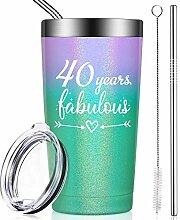 40 Years Fabulous, lustiges Geschenk zum 40.