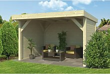 400 cm x 300 cm Gartenhaus Deges Garten Living